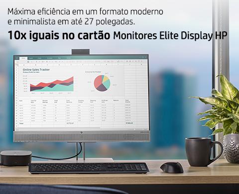 Monitores EliteDisplay 10x iguais no cartão