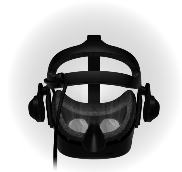 Back of reverb g2 vr headset