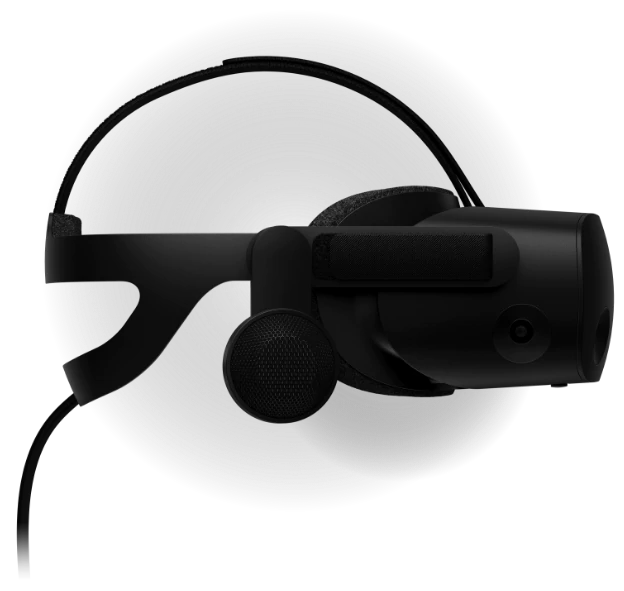 Side view of reverb g2 vr headset