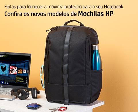 Confira os novos modelos de Mochilas HP