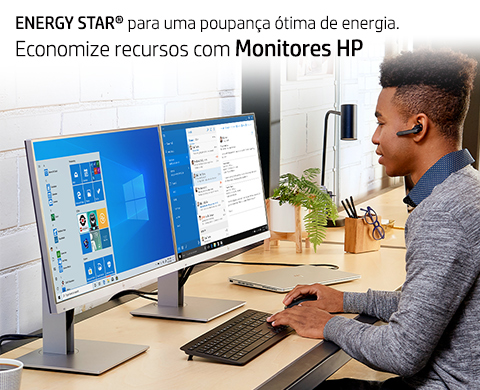 Monitores com certificado ENERGY STAR