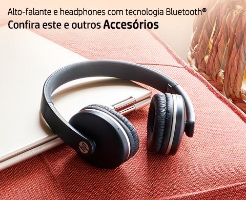 Audio com qualidade: alto-falante e headphones