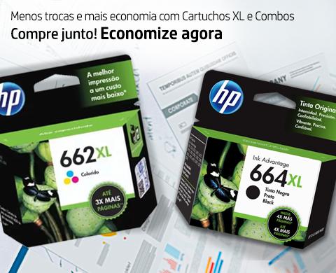 Imprima mais com os cartuchos XL e combos