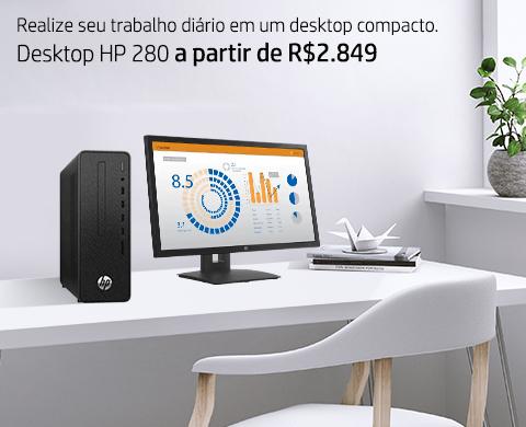 Desktop HP Pro A G3 com Processador AMD