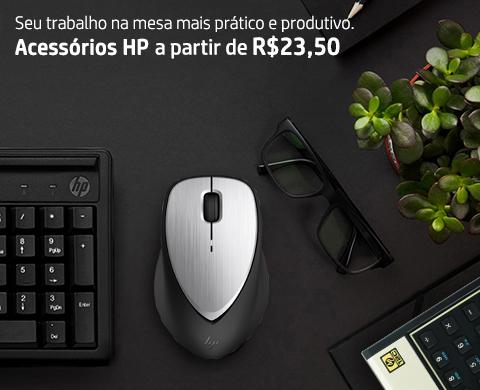 Acessórios HP para o trabalho diário na mesa